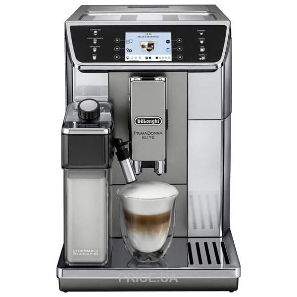 Кофемашина автоматическая Delonghi PrimaDonna Elite ECAM 650.55.MS