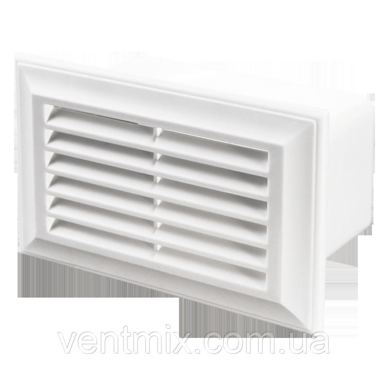 Вентиляционная решетка с регулировкой расхода воздуха 55х110