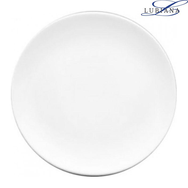 Тарелка фарфоровая мелкая Lubiana Boss 270мм