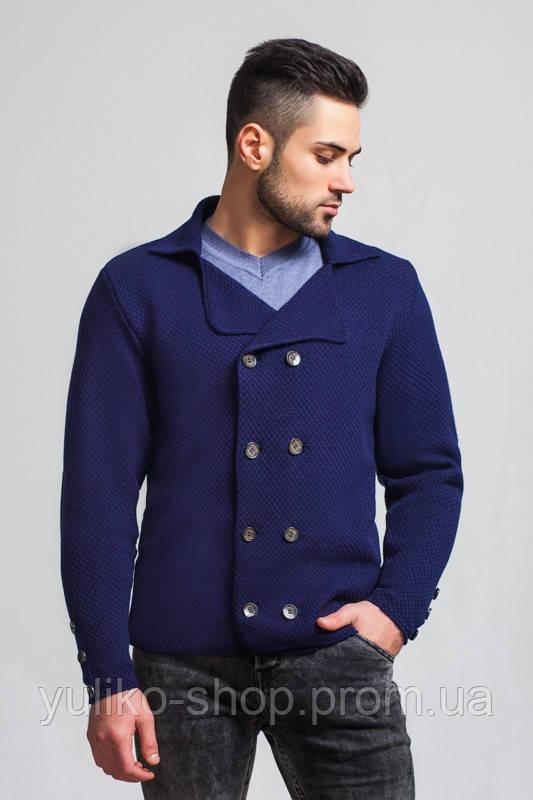 пиджак мужской вязаный стильный кардиган в категории свитеры и