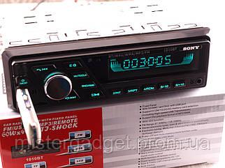 Автомагнітола Sony 1010BT Bluetooth Вільні руки MicroSD, Usb, Aux, змінне Підсвічування