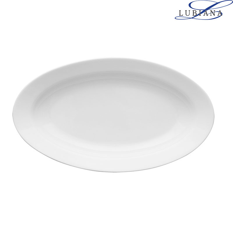 Блюдо фарфоровое овальное Lubiana Kaszub 210мм (селедочница)