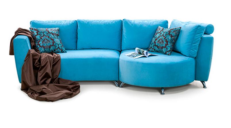 Мягкий диван Николь Софино 2800x1350x900 мм
