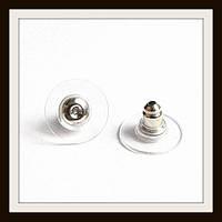 Металлические заглушки с силиконом (основа медь. Не содержат никель) 70 штук