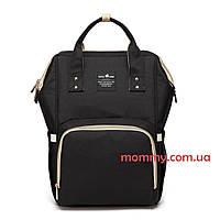 Сумка рюкзак для мам Baby Tree Чёрный цвет