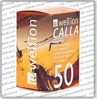 Тест-полоски Веллион Калла (Wellion Calla) 50 шт.