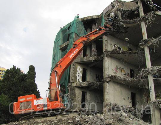 Демонтаж промышленных строений, фото 1