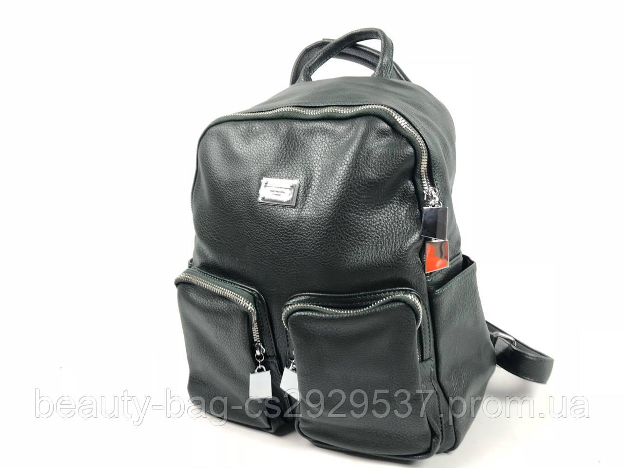 Рюкзак молодежный 881238 зеленый