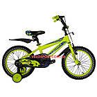 Детский велосипед Crosser Stone 16 дюймов желтый, фото 2
