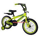 Детский велосипед Crosser Stone 16 дюймов желтый, фото 3