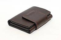 Компактный кардхолдер-портмоне Grande Pelle коричневого цвета (12850), фото 1