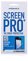 Защитная пленка для iPhone 6 Plus - Momax Screen Protector (clear), глянцевая PCAPIP6L