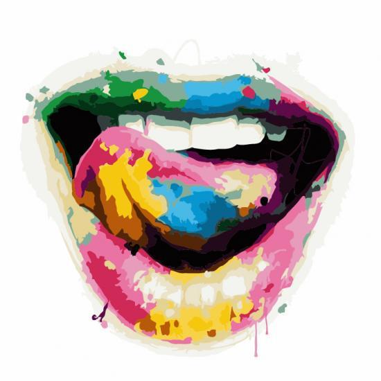 Картина по номерам Игривая улыбка,  40x40 см, ArtStory