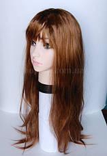 Парик светло-коричневый длинный (75 см), фото 3