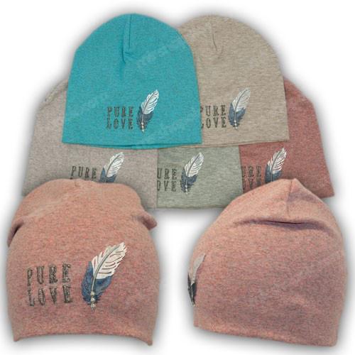 Детская трикотажная шапка для девочек