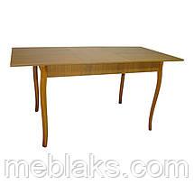 Стол обеденный раздвижной Скор 115 (155) см х 75 см ноги фигурные дерево Тавол, фото 3