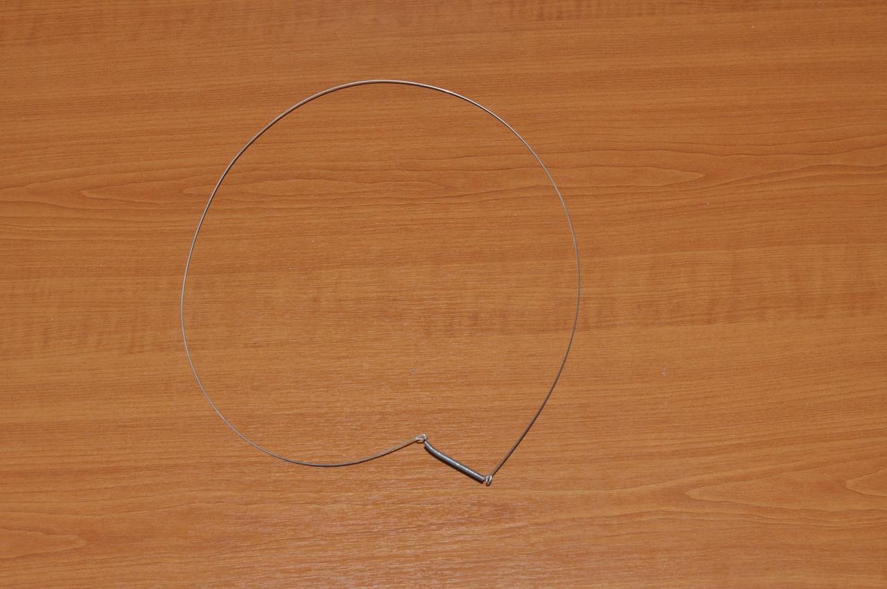 Хомут резины люка (Наружный)для стиральной машины Indesit (Индезит) Оригинал