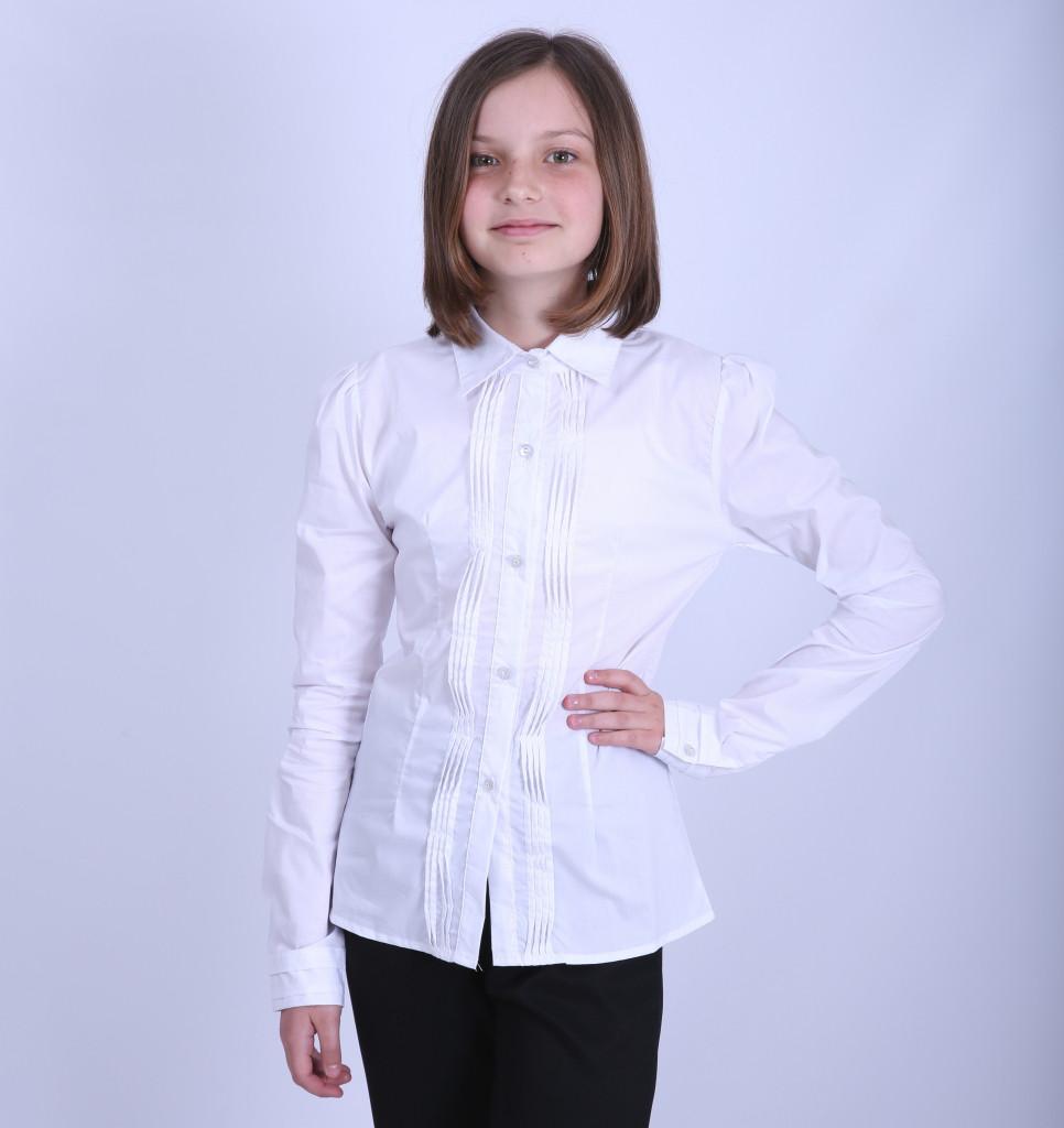 Блуза школьная для девочки 1853, 116-146