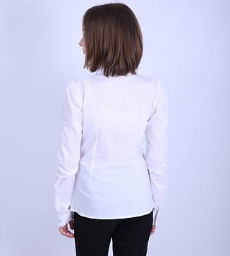 Блуза школьная для девочки 1853, 116-146, фото 2