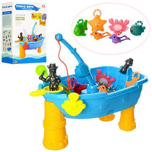 """Игровой столик """"Рыбалка + песочница"""" арт. 057"""