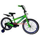 Детский велосипед Crosser Stone 20 дюймов зеленый, фото 2