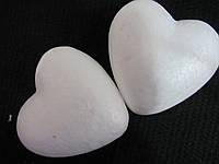 Пенопластовые сердца 7.5 см, 7