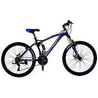 """Хит!!! Горный велосипед двухподвесник 26"""" Titan VIPER (Shimano, моноблок)"""