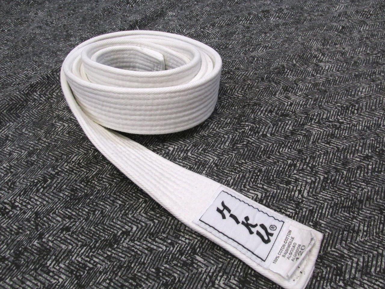 Пояс кимоно Hiku, 120, (195х4 см), Cotton, Отл сост!