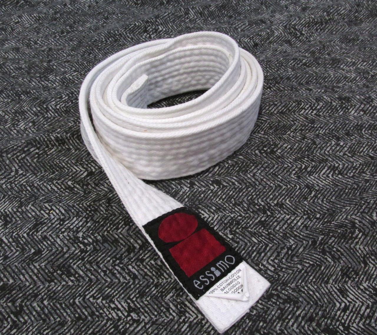 Пояс кимоно Essimo, 110, cotton, (200х4 см) Мин. следы носки, Уценка!