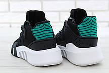 Мужские кроссовки AD EQT Basketball ADV Negro. ТОП Реплика ААА класса., фото 3