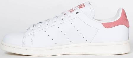 Женские кроссовки AD Stan Smith White Pink, А-д . ТОП Реплика ААА класса., фото 2