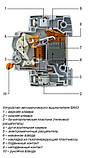Автоматический выключатель 11221 ВА63 3P 6А, фото 2