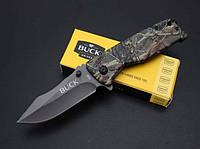 Нож титановый полуавтоматический складной BUCK X58. Титановое покрытие клинка. Тактический нож.