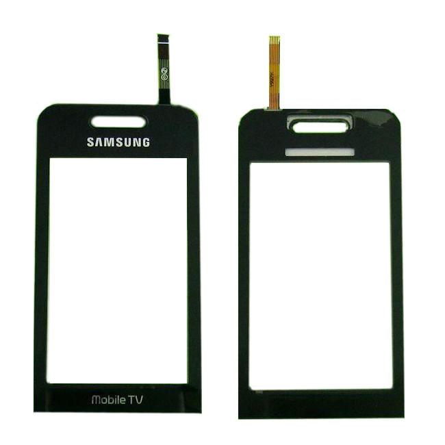 Тачскрин Samsung S5233 Star TV черный (сенсорный экран, стекло в сборе)