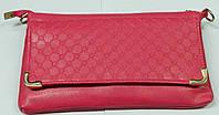 Клатч женский розовый сделанный из искусственой кожи, фото 1