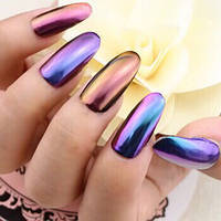 Втирка для ногтей с зеркальным эффектом, цвета в ассортименте, фото 1