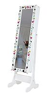 Напольное зеркало в раме TK 007 с нишей для белья (Лотос-М), фото 1