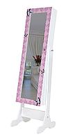 Напольное зеркало в раме TK 011 с нишей для белья. Бабочки (Лотос-М), фото 1