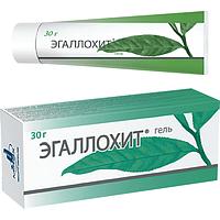 Эгаллохит гель 30 г Разорвана картонная упаковка