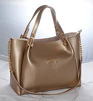Женская сумкаMісhаеl Коrs (в стиле Майкл Корс),золотистая ( код: IBG088Y )