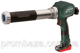 Аккумуляторный пистолет для герметика Metabo PowerMaxx KP 400 мл
