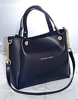 Женская сумкаMісhаеl Коrs (в стиле Майкл Корс),черная ( код: IBG088B )