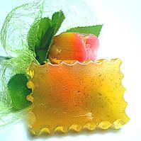 Мыло натуральное с  ромашкой, подорожником и  эфирным маслом апельсина
