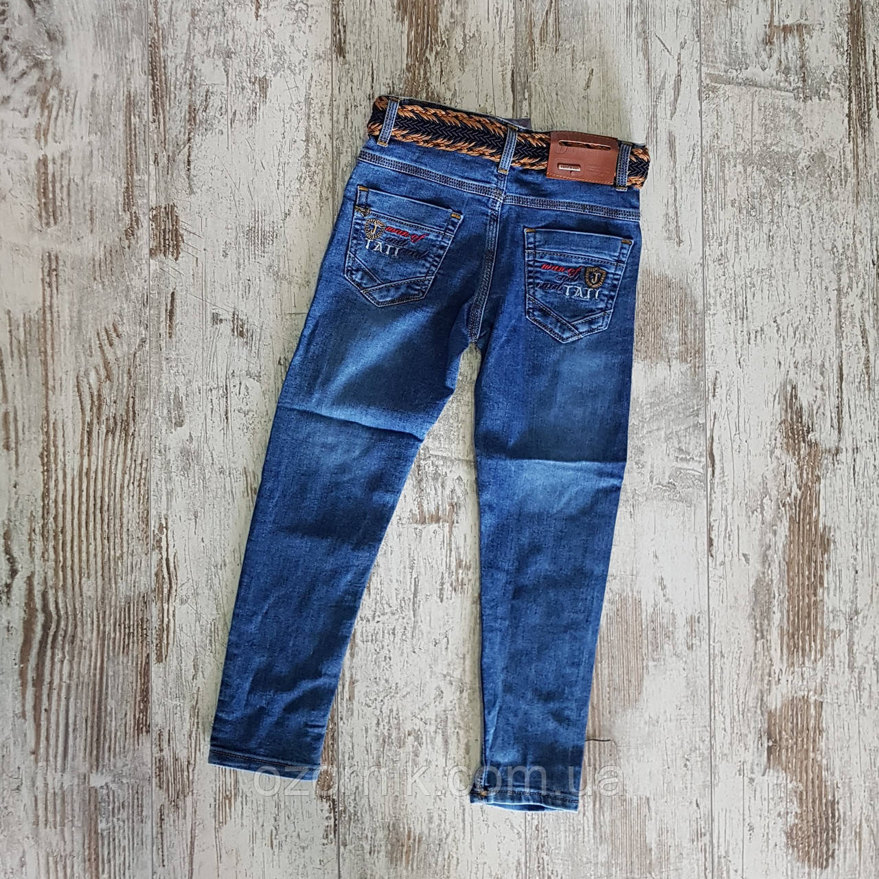 e4c7ef8b48c Классические джинсы для мальчиков 5-8 лет