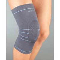 АУРАФИКС Бандаж на колено эластичный с силиконовым кольцом 119 р.XL