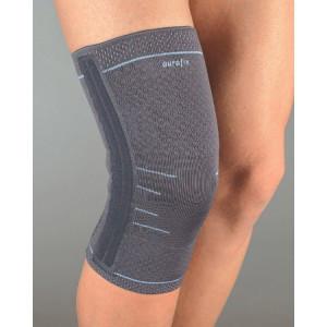 АУРАФИКС Бандаж на колено эластичный с 4 спиральными ребрами 118 р.XXL
