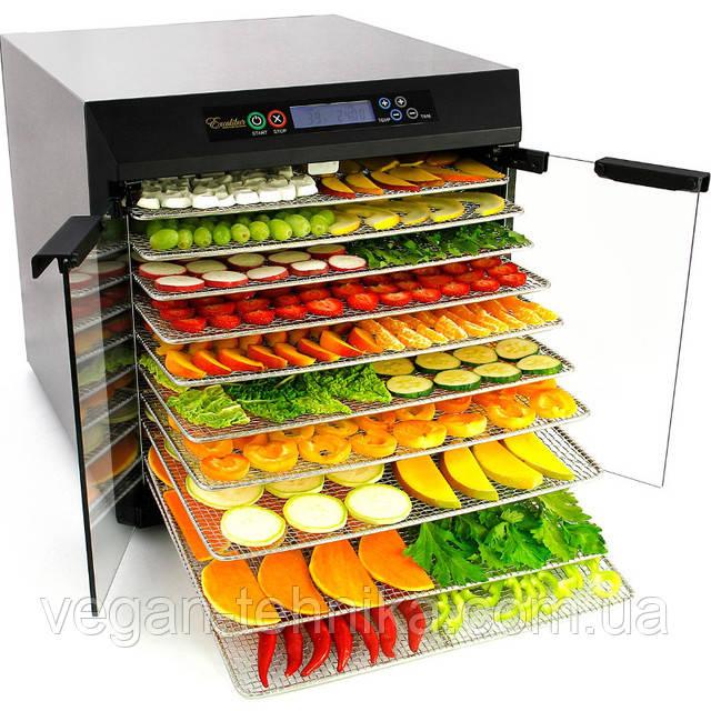 Дегидраторы Excalibur - сушилки для овощей и фруктов
