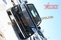 Защита переднего бампера d 76 одинарная Союз 96 на Lexus LX 570 Sport 2010-2013