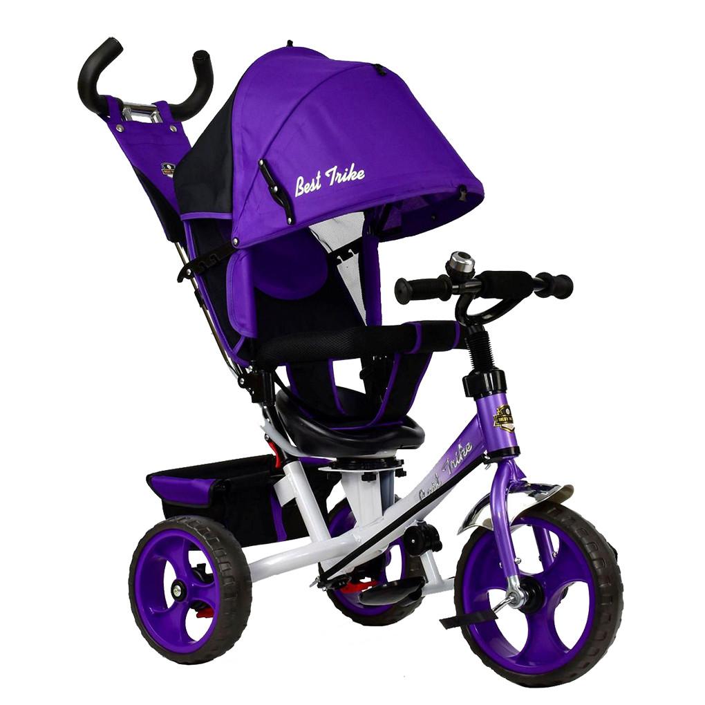 Bелосипед трехколесный Best Trike 5700-4010 Фиолетовый 65344