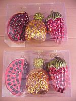 Фигурки фрукты 15см